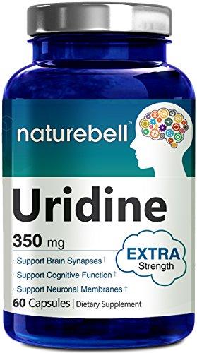 Uridine Monophosphate (Choline Enhancer) 350mg - 60 Capsules- Made in USA