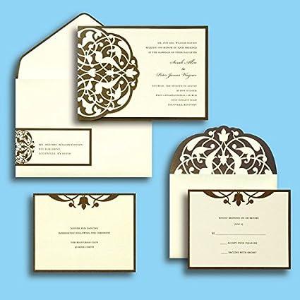 Amazon Com Gartner Studios Brides Diy Wedding Invitation Kit In