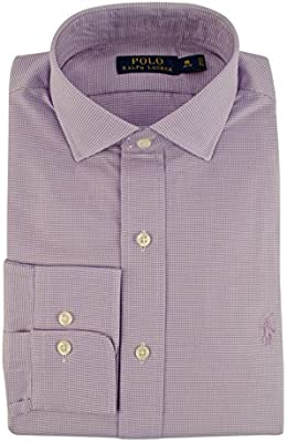 Polo Fit Ppw 5 Ralph Classic Dress Men's 17 Lauren Puppytooth Shirt nPNw8X0Ok