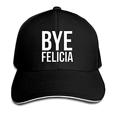 SunRuMo Unisex Adjustable Snapback Hat Solid Colors Hat For Bye Felicia from SunRuMo