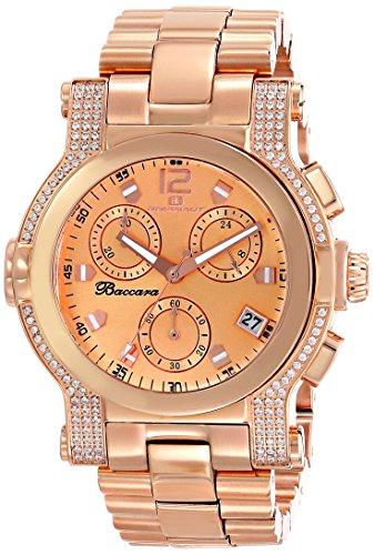 Oceanaut Women's OC0728 Baccara Analog Display Quartz Rose Gold Watch