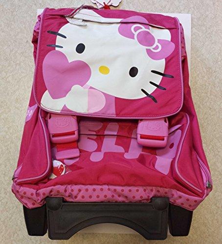 282ffaba08 HomeValigeriaZaini e accessoriZaini scuolaZaino trolley Hello Kitty. 🔍.  Valigeria ...