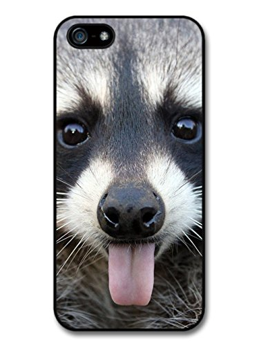Cool Cute Funny Cheeky Raccoon Photography Wild Animal Nature case for iPhone 5 5S