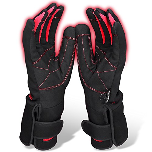 Heated Waterproof Motorcycle Gloves - 8