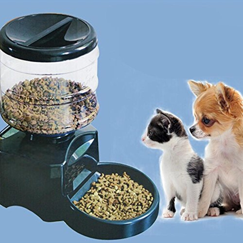 durable modeling Automatic Pet Feeder Programmable Timer Food Station Dispenser Container for Dog Cat with Electronic Small Large Meal Portion Control Voice Recording
