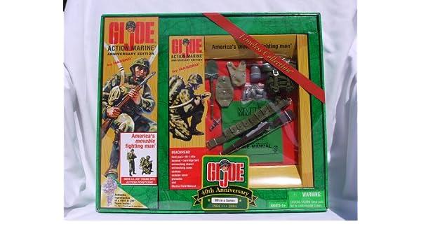 Amazon com: G  I  Joe 40th Anniversary Action Marine - 8th