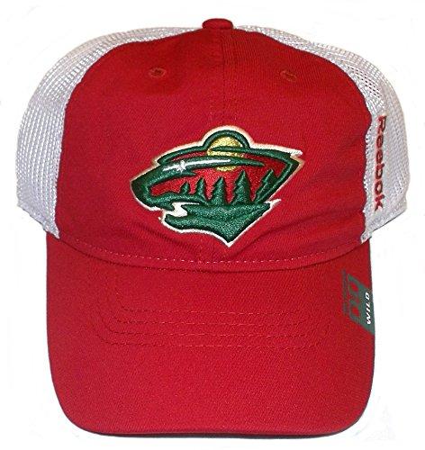 Minnesota Wild Jackets Slouch Flex Fit Reebok Hat - L/XL - EY72Z