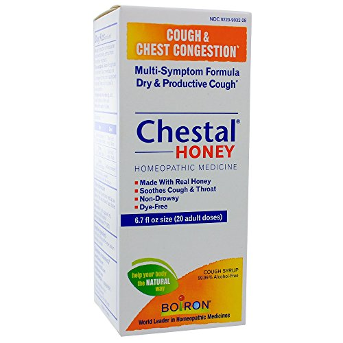 Boiron Chestal Honey Cough and Chest Congestion Syrup 6.7 Fluid Ounce