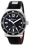 Salvatore Ferragamo Men's FF3100014 FERRAGAMO 1898 SPORT Analog Display Quartz Black Watch