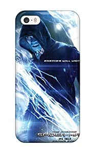 Protection Case For Iphone 5/5s / Case Cover For Iphone(the Amazing Spider-man 2 Movie Poster) 3410220K47905644