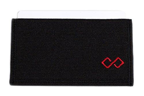 Infinity Wallet Men's Minimalist Wallet (Red)