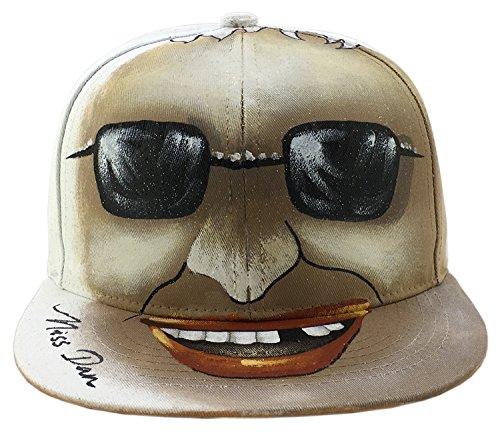 Graphic Hat Watercolor Hand Painted Snapback Baseball Hat Cap Flat Bill Unique - Lebron Sunglasses James