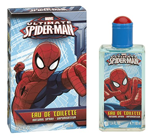 Marvel Ultimate Spider Man EDT Spray, 3.4 Ounce