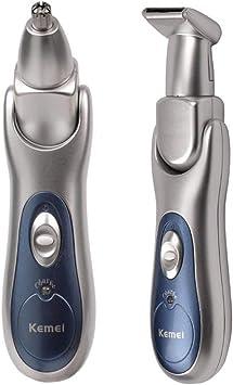 2 EN 1 Barba afeitadora eléctrica profesional Barba/Oído ...