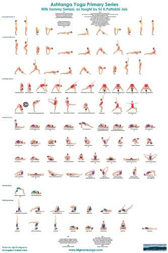 Yoga Posture Poster by Big Wave Yoga: Amazon.es: Hogar