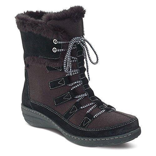 Aetrex Courtes Chaussures À Lacets Blackberry Femmes
