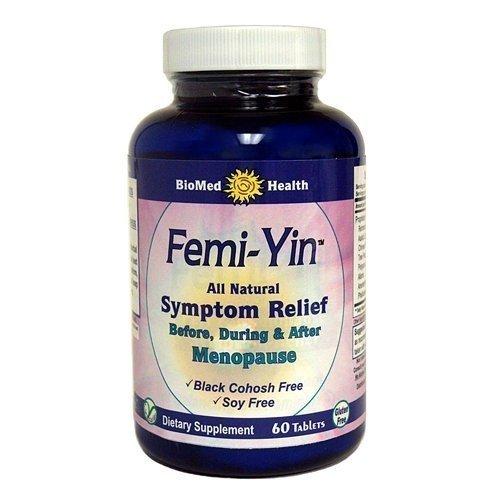 Biomed Health Inc Femi Yin Menopause Relief 60 Cap