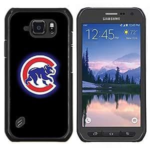 LECELL--Funda protectora / Cubierta / Piel For Samsung Galaxy S6Active Active G890A -- CUB DEPORTE --