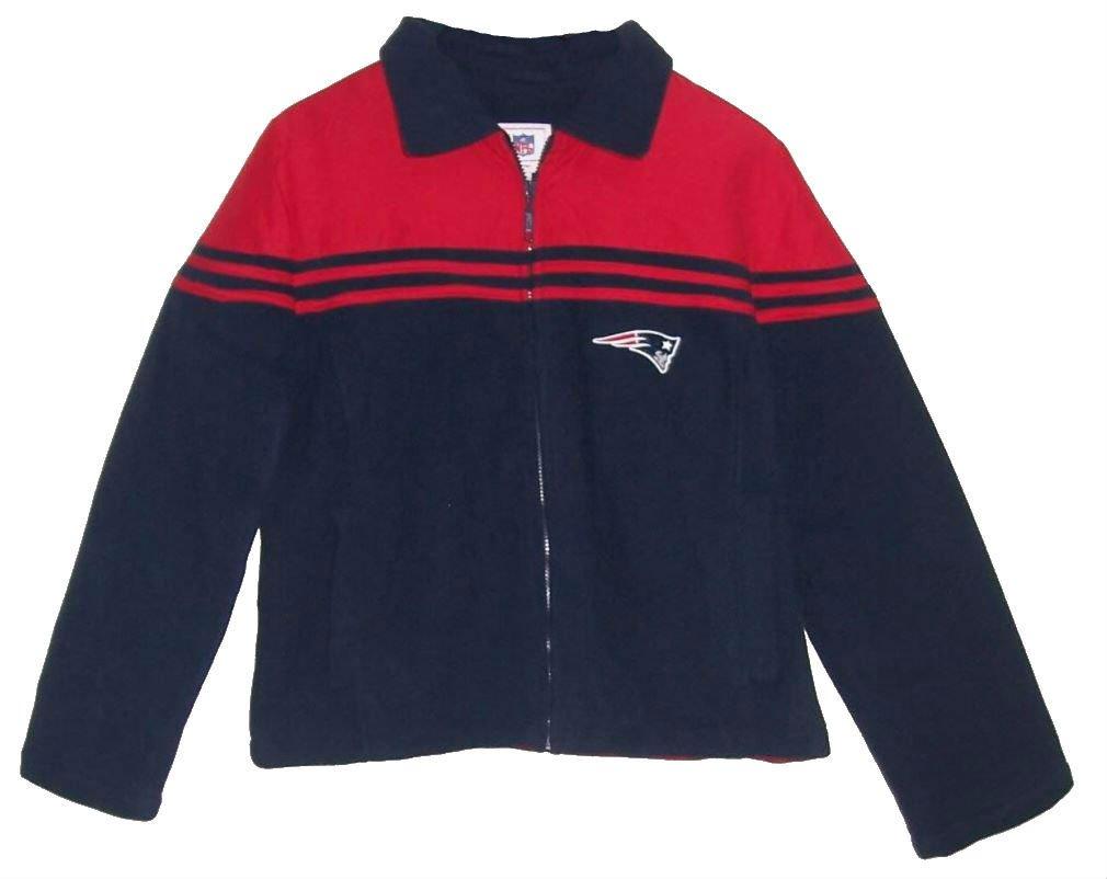 春のコレクション 新しいEngland Patriots Jacket Womens Medium Fleece Full Zip Fleece Jacket – Womens Navyブルー&レッド B06Y1G1CPY, イーヅカ:a4a7c207 --- a0267596.xsph.ru