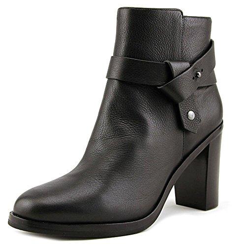 Via Spiga Women Shoes - Via Spiga Women's Farrah Black Leather 10 M
