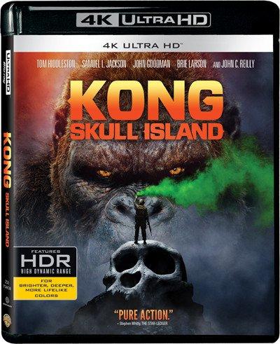 Kong  Skull Island  4K Uhd   Blu Ray   Hong Kong Version   Mandarin Dubbed  Chinese Subtitled