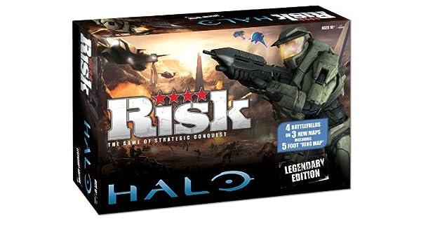 Risk: Halo Legendary Edition: Risk: Halo Legendary Edition: Amazon ...