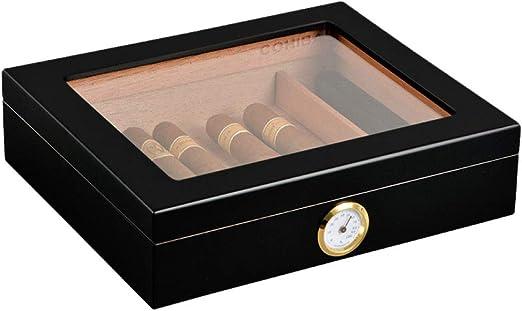 DPLQX Caja de Cigarrillos, Caja de cigarros con mechero Caja de ...