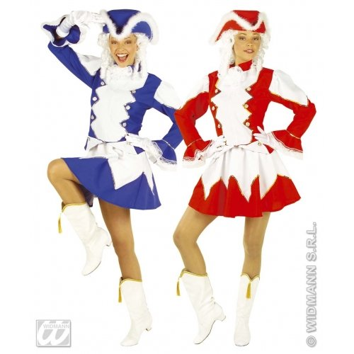 Ladies Majorette Lady Costume Large Uk 14-16 For Military Army War Fancy Dress]()