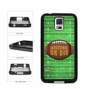 Arizona or Die Football Field TPU RUBBER SILICONE Phone Case Back Cover Samsung Galaxy S5 I9600