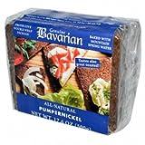 Bavarian Breads Organic Pumpernickel Bread (6x17.6Oz )