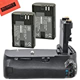 Battery Grip Kit for Canon EOS 60d Digital SLR Camera Includes Qty 2 Replacement LP-E6 Batteries + Vertical Battery Grip + More!!