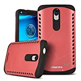 Motorola Droid Turbo 2 Case, VALKYRIE Runic Shield Case For Motorola Droid Turbo 2 WARRIOR PINK [Shock Absorbent] with Cushion [Dual Layer Design] (Fits Motorola Droid Turbo 2nd Gen Only)