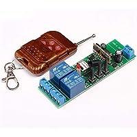 MHCOZY 2CH WiFi RF Draadloos Schakelaar Relais, Inching Zelfvergrendeling Interlock Mode,Ewelink App Afstandsbediening…