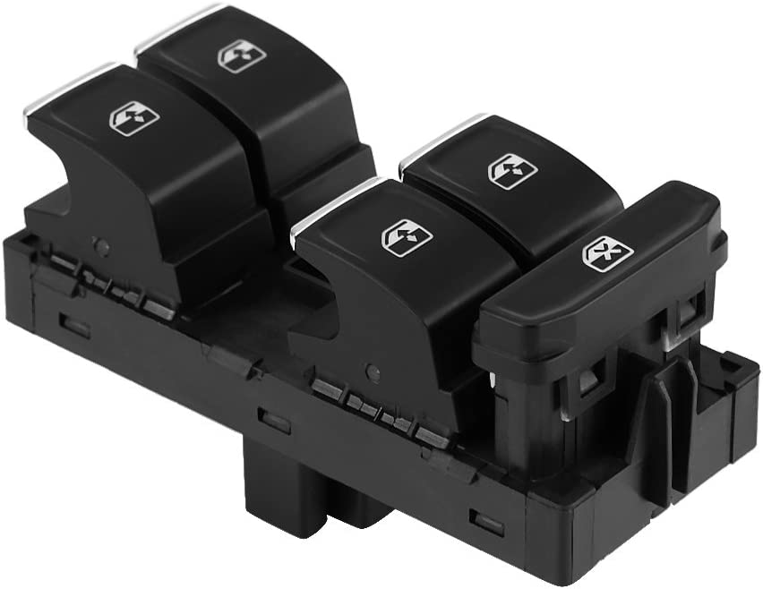 KIMISS Electric Window Switches,Power Window Master Switch for GTI 7 Passat B8 Tiguan Touran,5G0 959 857 /°C