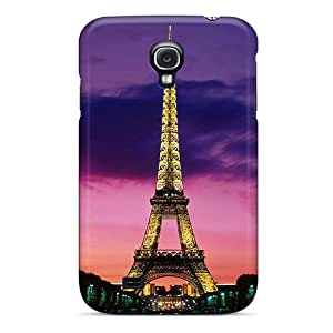DonnaLConner Galaxy S4 Hybrid Tpu Case Cover Silicon Bumper Eiffel Tower