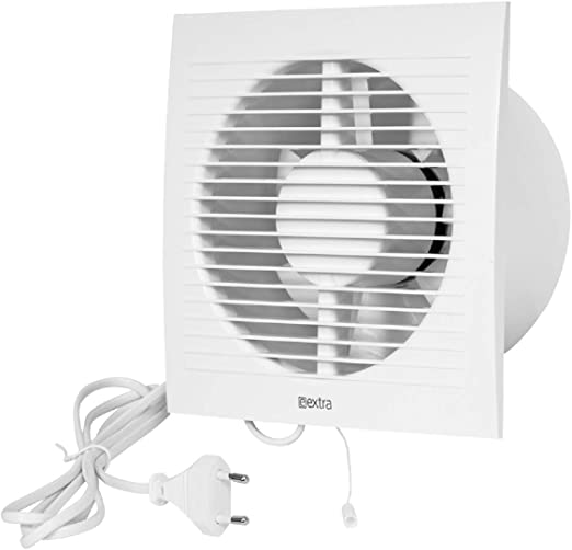 Pared Ventilador Canalizado Cable Interruptor Ventilador Cocina ...