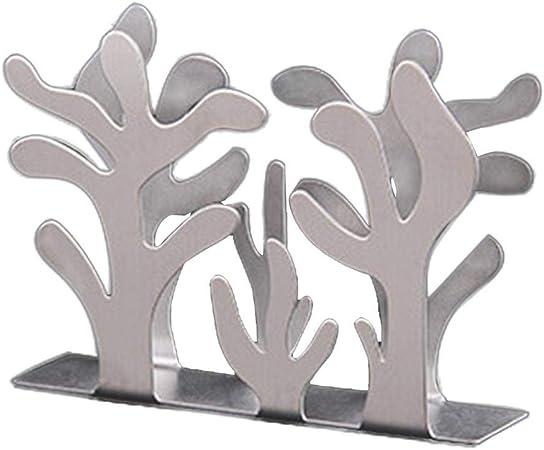 portatovaglioli in acciaio inox moderno porta tovaglioli decorazione da tavolo SunshineFace