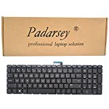 Replacement Keyboard for HP Pavilion 15-ab 15-ab000 15-ab100 15-ab200 Series Laptop Black No Frame without Backlight