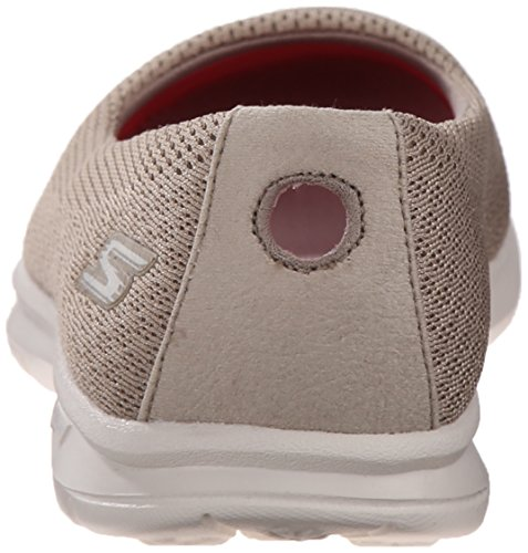 Shoe 5 US Mesh 7 Walking Women's Go Step M Primary Taupe Skechers Performance AvYxF