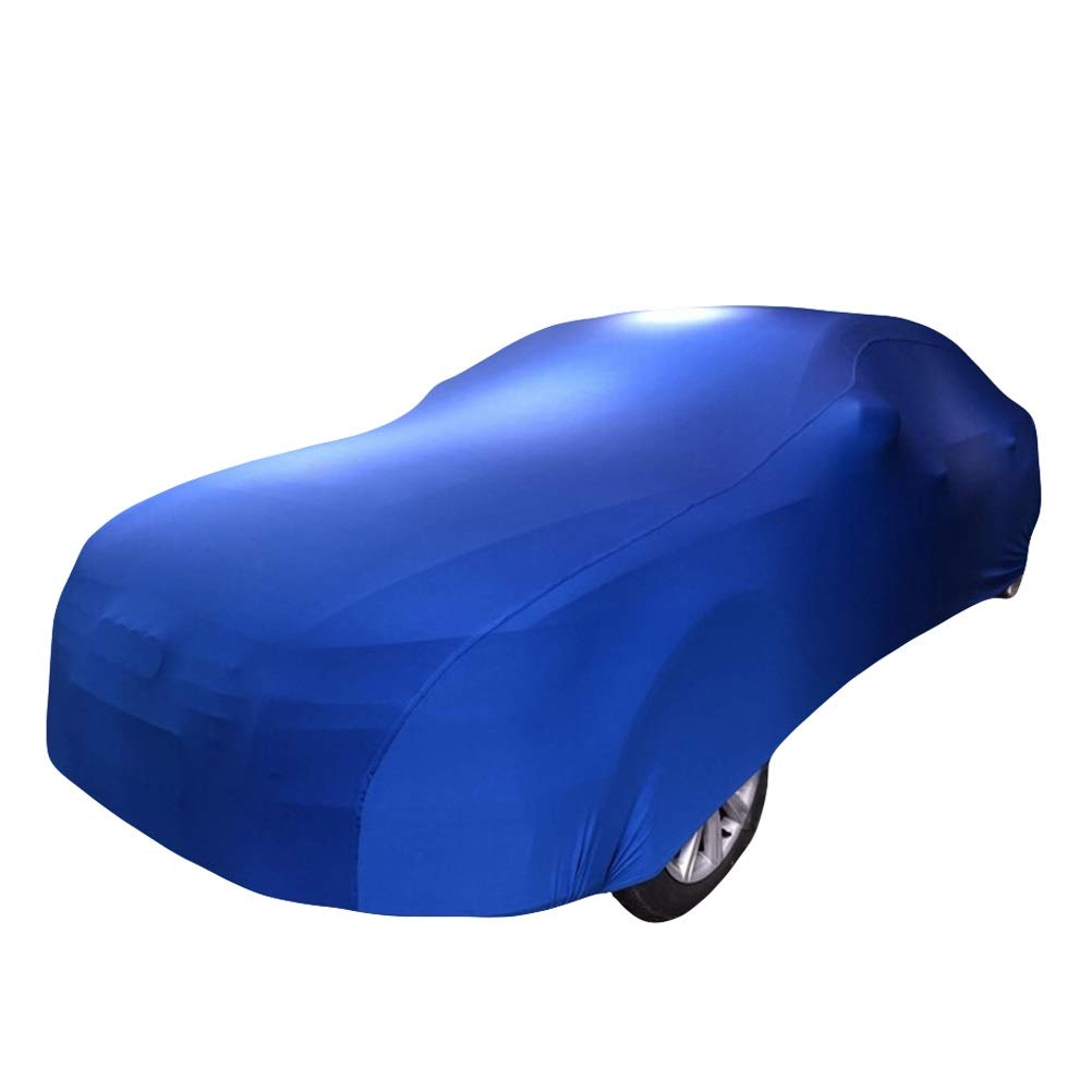 BAOYUANWANG Indoor Special car Cover (for Volvo car) Blue Stretch car Clothing Elastic (Garage, auto Show, car Dealer) with Logo can be Customized (Color : Air Motion)