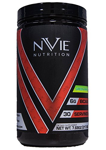 Nvie Nutrition BCAA 2:1:1 Green Apple 7.68 oz