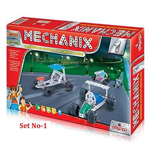 TanMan Metal Mechanix Game No 1, with Metallic Tools, an Engineering Game for Creative Kids
