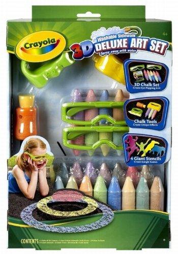 Crayola 3D Deluxe Art Set (Sidewalk Chalk 3d)