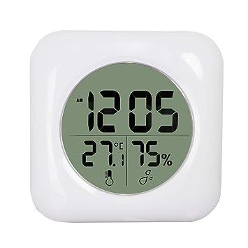 Grand Ecran LCD Reveil Horloge Snooze Function 24H,Grand Écran ...