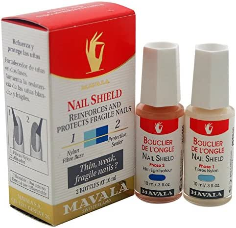 Mavala Switzerland Nail Shield 2 Piece Set