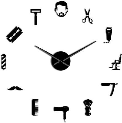 DIY Acrylic Wall Clock