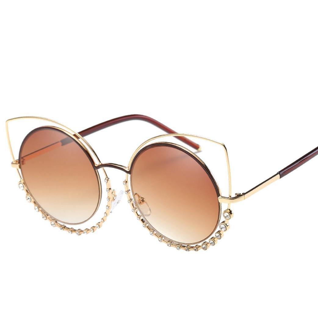 【人気急上昇】 sdooレディースファッションダイヤモンドCat Eyeサングラス B07CF721GK B07CF721GK ゴールド, INDOOR:f5740212 --- agiven.com