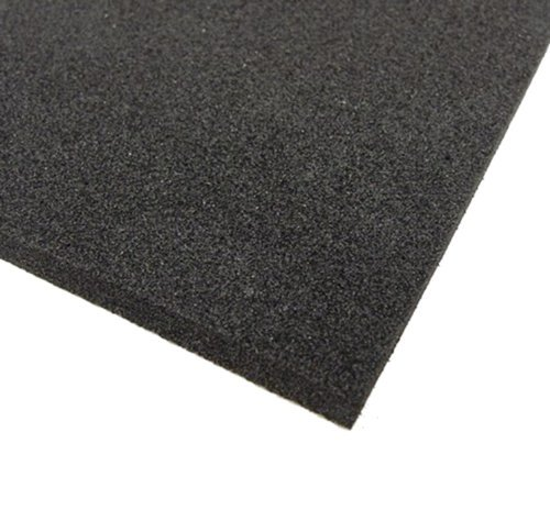 Black Neoprene Plain Sponge Foam Rubber Buy Online In Guernsey At Desertcart