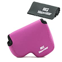 MegaGear ''Ultra Light'' Neoprene Camera Case Bag with Carabiner for Nikon Coolpix L840 Digital Camera
