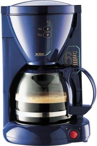 Solac C135AZ - Cafetera (Cafetera de filtro, 550 W, Azul): Amazon ...